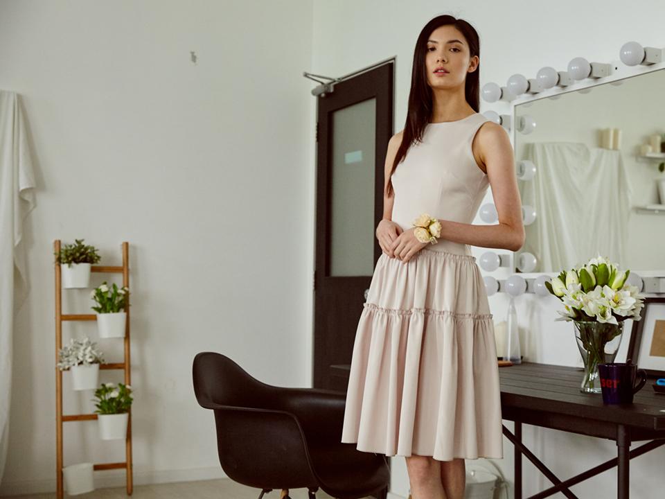 classic tier dress