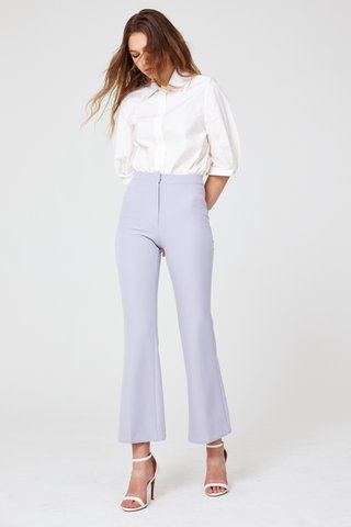 Printemps double collar shirt in white