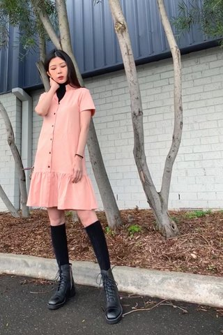 Sasha Shirtdress in pink