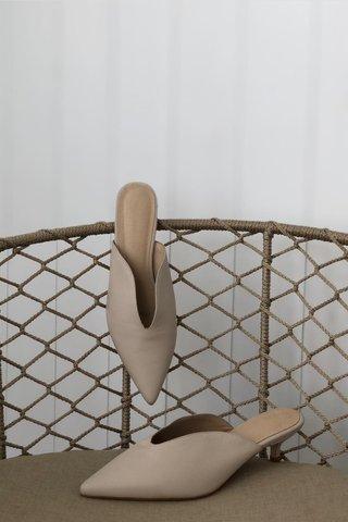 Pre-Order | Kitten heels in nude (5cm)