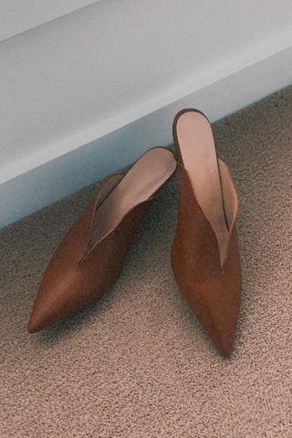Pre-Order | Kitten heelss in Brown (5cm)
