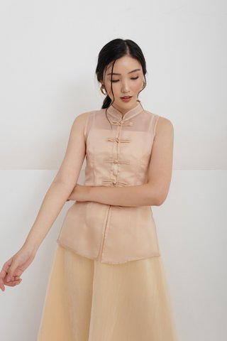 Xi Shanghai Top in Nude